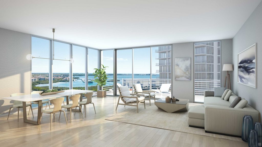 Marina Pointe Living Room